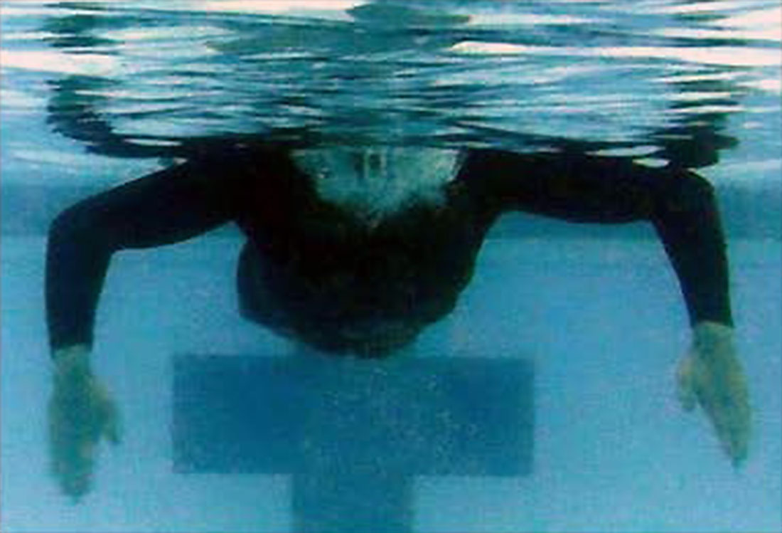 Combat Side Stroke Initial Breath and Pull for the Breaststroke